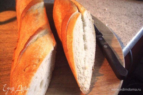 Когда будете кушать помидорный суп ,для полного блаженства, побалуйте себя вкусным белым хлебушком, например, французским baguette…