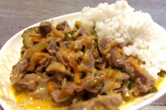 На гарнир отлично подойдет рис, перловка или картофельное пюре. Приятного аппетита!