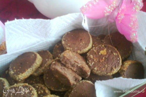 Аромат шоколада в доме при выпечке ГАРАНТИРУЮ!У меня получилось 56 штучек-печенюшек.