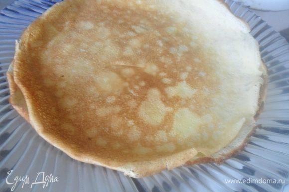 Блины не прилипают,если сковорода у вас антипригарная. Если нет, то добавьте 2 ст ложки растит масла в тесто, тогда блины не будут липнуть.