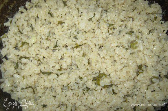 И варим рис до готовности.