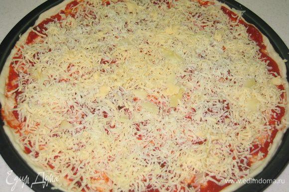 Посыпать тертым сыром (0,5 стакана)