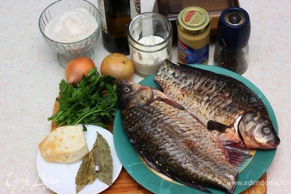 Ну почему вкусная рыба такая костлявая??? Если бы не кости, я бы очень часто готовил это блюдо. Так что любителям трудностей посвящается )))