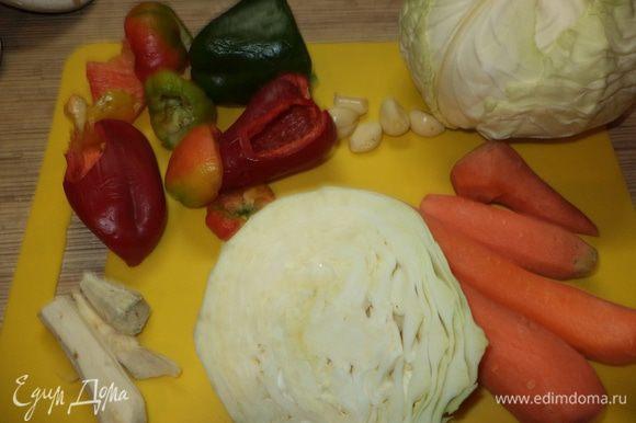 приготовим все овощи