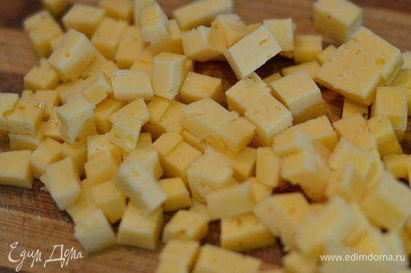 Режим на квадратики сыр.
