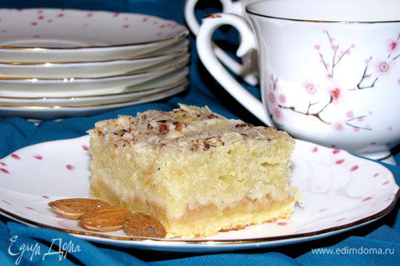 Пирожные готовы. Налить горячий чай и наслаждаться! Приятного аппетита!