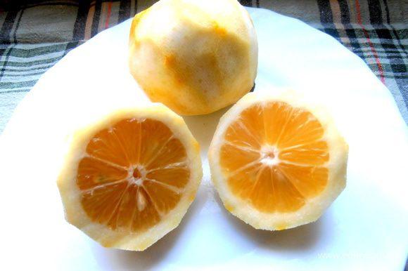 """Помните """"голые"""" лимоны, которые остались от Лимончелло? Вот ещё вариант, куда один пристроить!"""