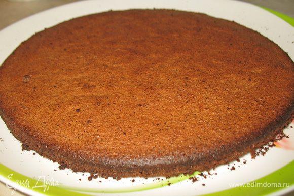 Готовим бисквит по рецепту Nin@ G.Lov, но только на 1\3 ее порции. http://www.edimdoma.ru/retsepty/49822-detskiy-tortik-s-fruktami-bez-glyutena-i-muki-kinder-torta. Корж охлаждаем.