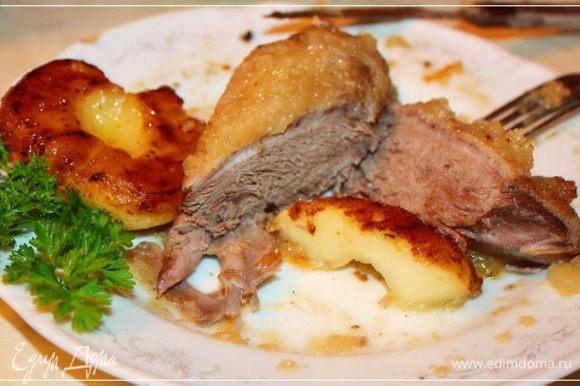 Как гарнир … к любому мясу, например – первейшее дело.