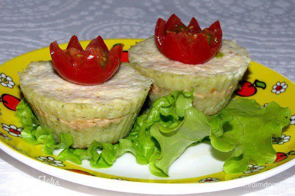 Запеканки для детей и взрослых готовы.))))) Приятного аппетита!