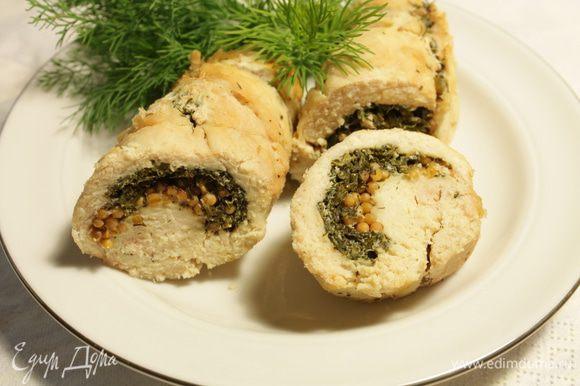 """А это закуска из куриных грудок """"Раковые шейки"""" от Алекса. Очень нам понравилась, рекомендую.http://www.edimdoma.ru/retsepty/57080-zakuska-iz-kurinoy-grudki-rakovye-sheyki"""