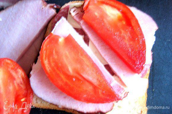 Удобно помидор расположить так!