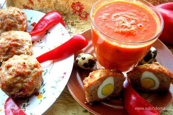 Подаём с домашним томатным соком! http://www.edimdoma.ru/retsepty/57679-domashniy-tomatnyy-sok
