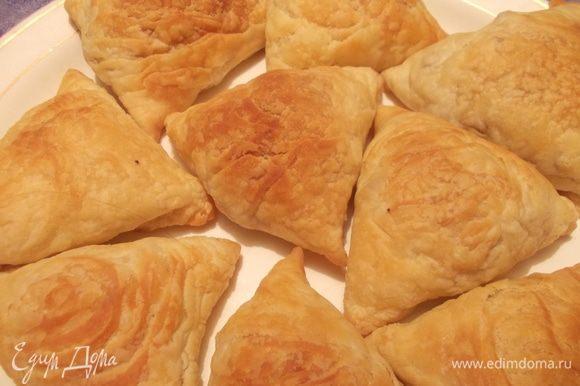 А ещё недавно я готовила узбекскую самсу по рецепту Светланы(Zolotaya)(((www.edimdoma.ru/retsepty/43470-uzbekskaya-samsa)))Очень вкусное,хрустящее тесто и сочная начинка. Всем советую!!!!