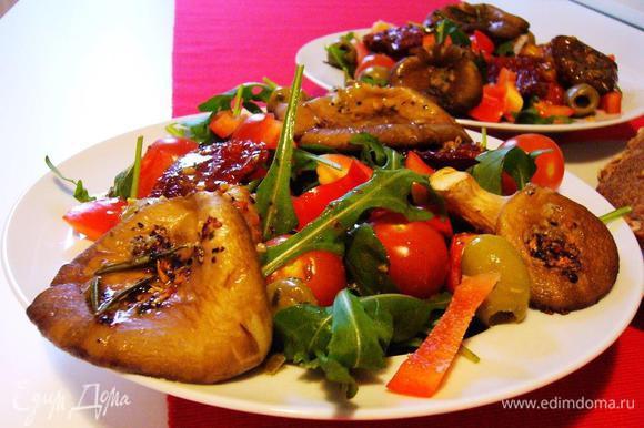 Подаём с тёмным хлебом, например, с лесным орехом и тыквенными семечками или чиабаттой. Buon appetite, signore e signori! Successi!