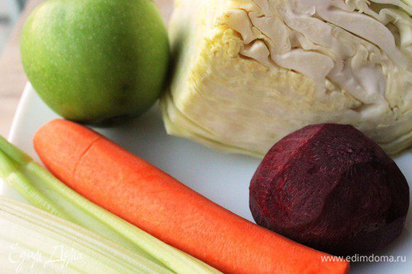 Набор овощей для ПЕСТРОГО салата...