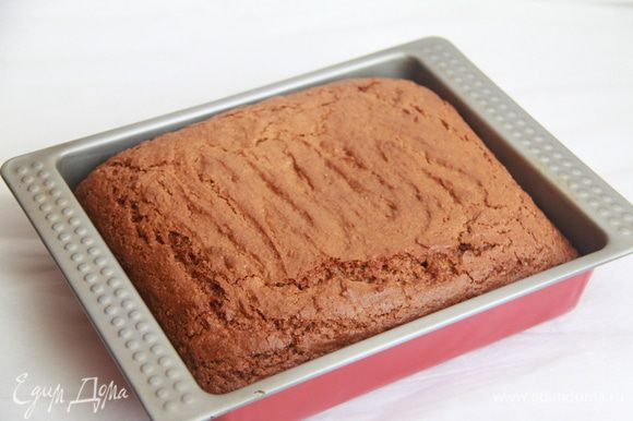 Дать пирогу полностью остыть.