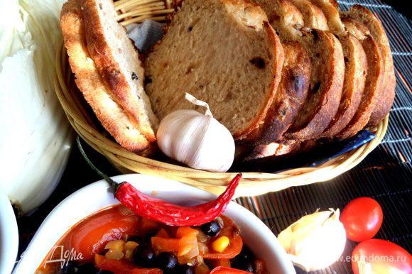 Очень ароматный настоящий хлеб вышел! Кто не постится,можно печь его на сыворотке!