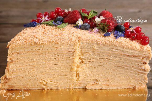 А вот разрез тортика ! ENJOY !