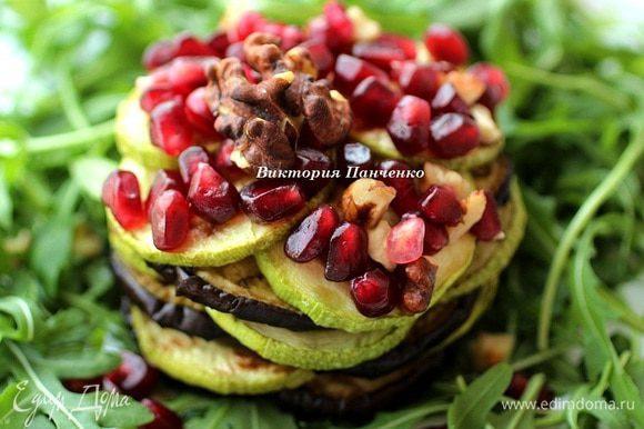 ГРИЛЬ-САЛАТ ИЗ КАБАЧКОВ И БАКЛАЖАНОВ http://www.edimdoma.ru/retsepty/65312-gril-salat-iz-kabachkov-i-baklazhanov