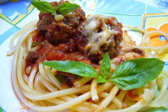Подавать со спагетти. Приятного аппетита!