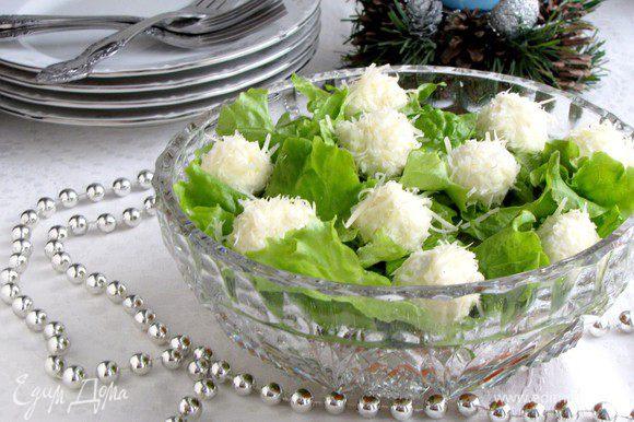 Приятного аппетита! Новогоднего настроения!)))