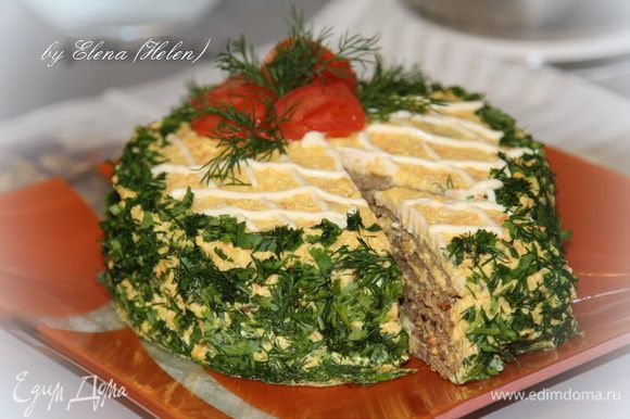 Наш тортик готов! Приятного аппетита и с наступающим праздником!