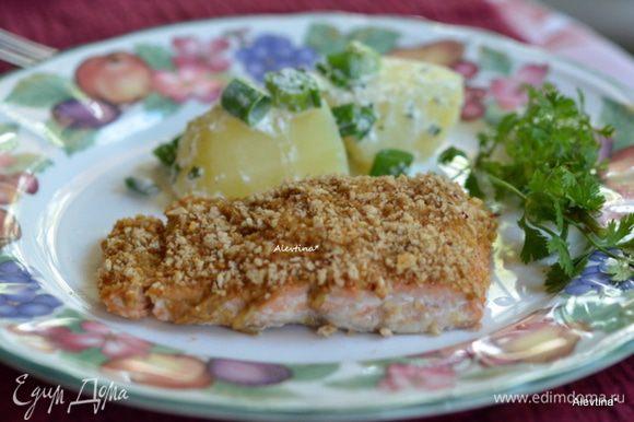 Подаем к столу с гарниром и зеленью по желанию. Приятного аппетита!