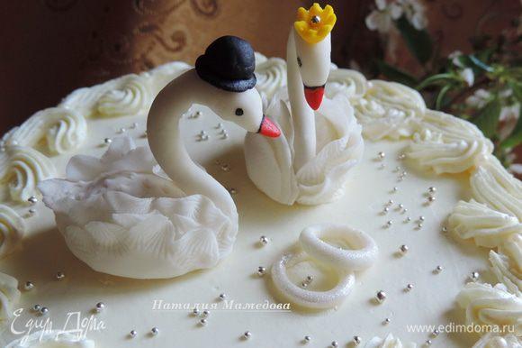 А вот и красавцы лебеди! Вдохновения вам и желания реализовывать свои кулинарные шедевры!!!