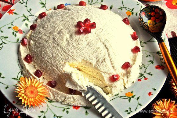 """Я уже говорила,что готовила домашнюю """"филадельфию"""" по рецепту Маргариты: http://www.edimdoma.ru/retsepty/73918-domashniy-syr-filadelfiya"""