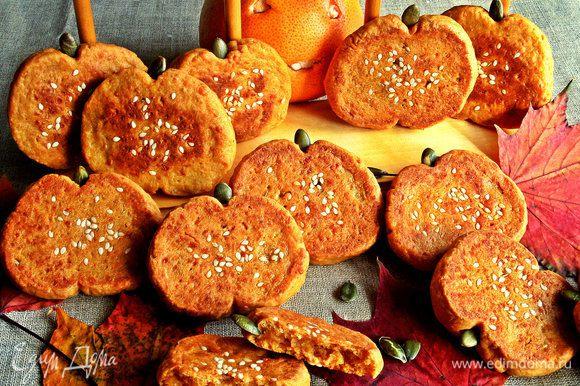 Печенье очень сытное, в нём много всего, поэтому для перекуса хватает парочки!