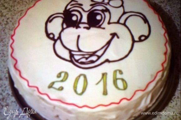 Точно такой же торт, независимо от меня готовил и мой брат, только без чернослива))), одним словом родственники.