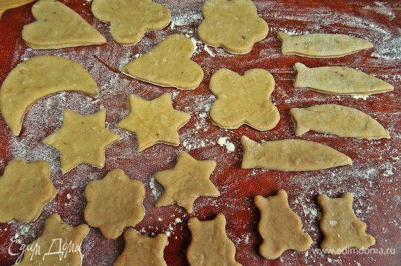 Я готовила из него и показывала вам вот такое перечное печенье из латышской кухни.