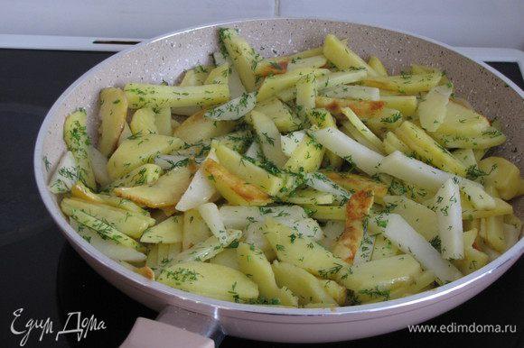 В это время можно поджарить картошечку или приготовить другой гарнир.
