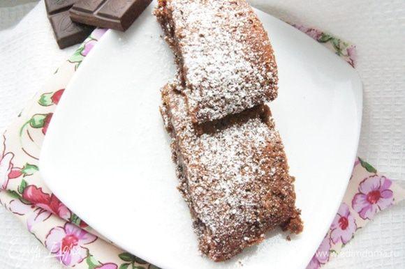 Никому я не сказала, что там за секретный ингредиент! Никто и не догадался, потому что кроме шоколадного вкуса, там нет никакого постороннего!