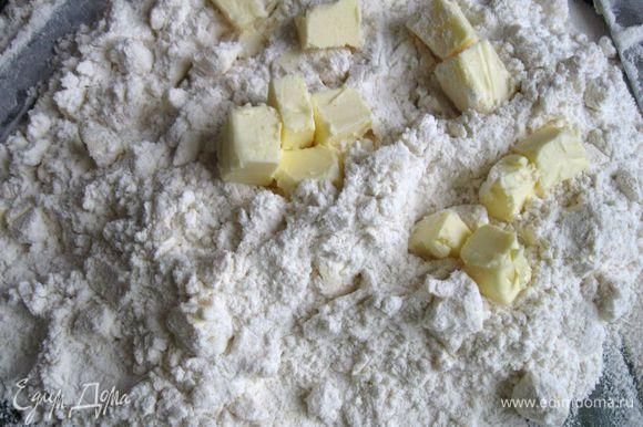 Это вторая порция масла, добавленная к рубленой массе.
