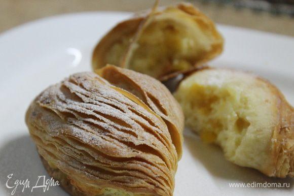 Приятного аппетита! Это стоит приготовить. Нежное, тончайшее тесто, вкусная начинка, и вы ощутите вкус Италии!