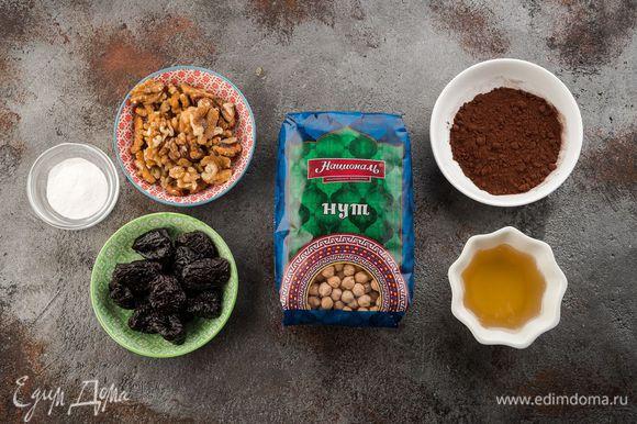 Для приготовления десерта нам понадобятся следующие ингредиенты.