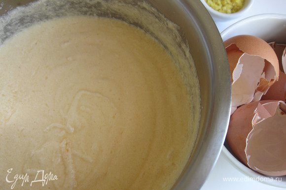 Взбить до состояния густого крема.