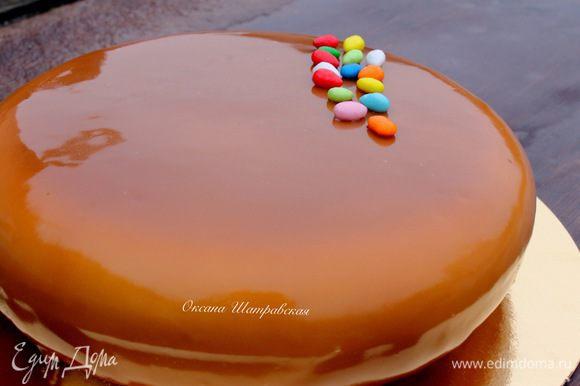 Вот такой торт у меня получился. :)