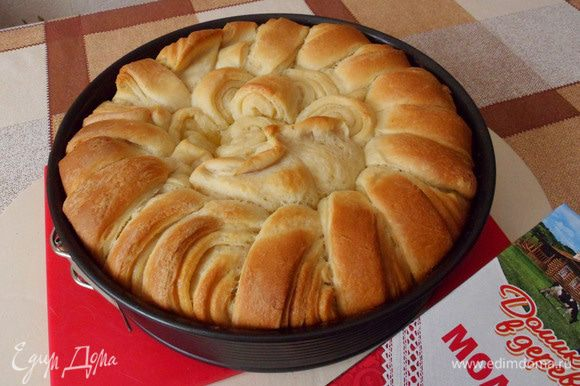 Пирог через 30 минут.