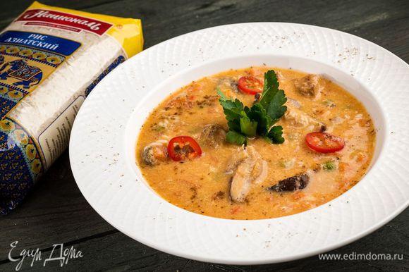 Подавайте суп горячим. Приятного аппетита!