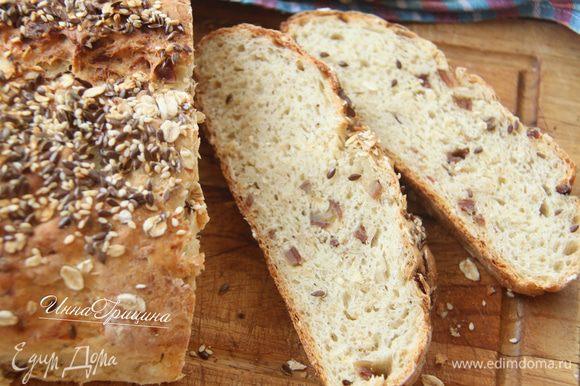 Сладкий домашний хлеб хорош с холодным молоком. На здоровье!