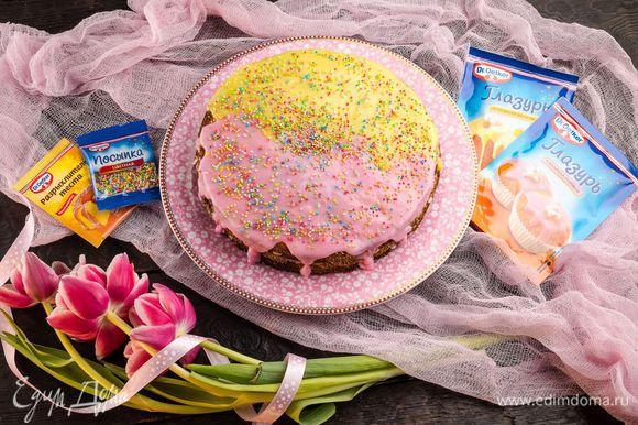 Вкусный торт готов!