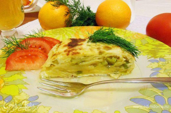 Спасибо донье Хосефине за прекрасный рецепт! Приятного аппетита!