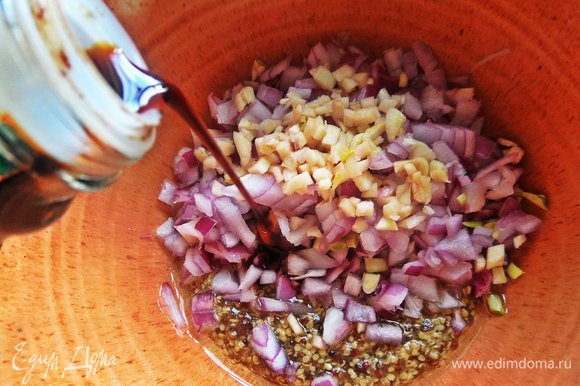 Посолить или влить соевый соус.