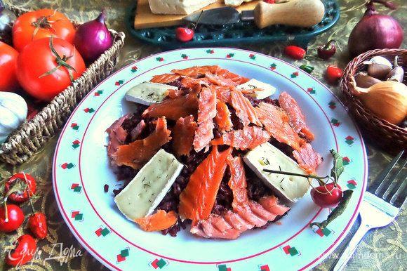 Если есть свежий тимьян, посыпать сверху и подавать ароматнейшее блюдо.