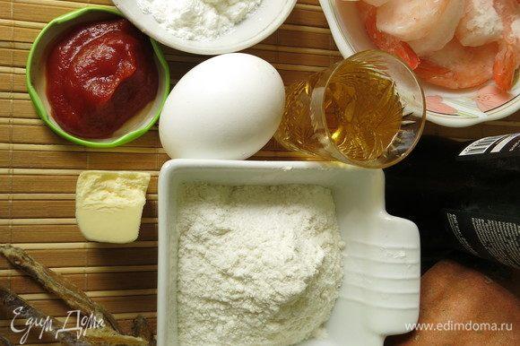 Подготовим продукты по списку. В оригинальном рецепте сатоимо — таро, деревенский картофель, заменила на батат, мирин заменила на вино.