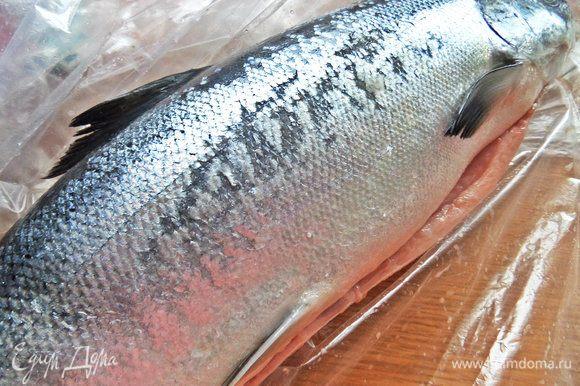 Можно взять рыбное филе. У меня был такой лосось атлантический.