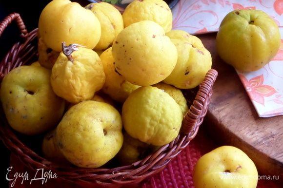 Немного о плодах цидонии: они сочные, с высоким содержанием витамина С (49-74 мг/100 г фруктов), B1, B2, каротиноидов, фруктовых кислот, минералов и пектина (1,5-5%). В мякоти плодов обнаружены каротин, тиамин, никотиновая кислота, пиридоксин и другие витамины.